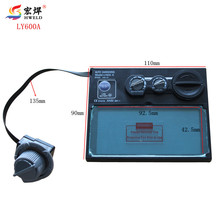 Auto Darkening Welding Mask Welding Helmet LI Battery Solar Welding Filter LY600A Free shipping