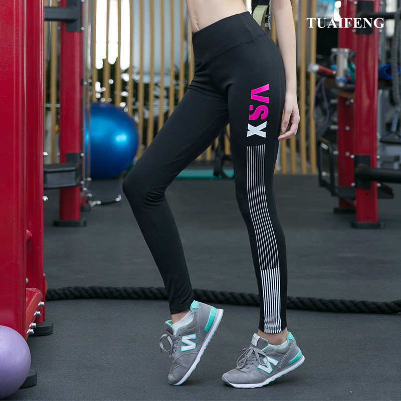 New Sports Pants Gym Clothes Spandex Running Tights Women Sports Leggings Fitness plus size Yoga Pants for women(China)