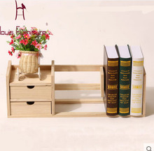 Modern Solid Wood Simple Shelves  Convenient Children Bookcase Office bookshelves
