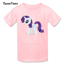 Unicorn Horse children's T Shirt 100% Cotton Short Sleeve Crew Neck Tshirt Teeshirt Boys Girls 2017 Discount T-shirt For Kids(China)