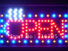 led026-r OPEN Coffee Cup LED Neon Light Sign Whiteboard Wholesale Dropshipping
