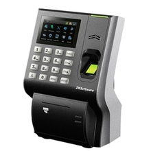 LP400 fingerprint time attendance with thermal printer optional back up battery(China)