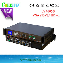 HDMI  full color led video processor LVP605D   5v 40a led display power supply p56p4 outdoor led display screen