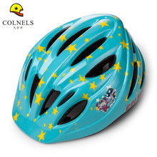 Kid Child Carton Pattern Bicycle Riding Helmet Ultralight Skiing Skating Outdoor Sports MTB Helmet Cycling Helmet casco ciclismo