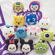 Cute Cartoon Animals Brooch Pin Lovely Clothes Decoration Badge for Kids Children Gift
