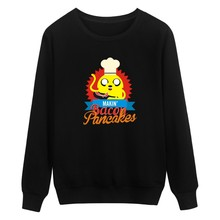 Autumn European Style fashion casual mens adventure Time sweatshirt man fleece hoodies and sweatshirt adventure Time 4xl