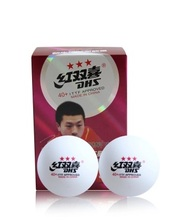 30 balls DHS  40mm+  3star  New material  Table Tennis Pingpong  Balls White  82001