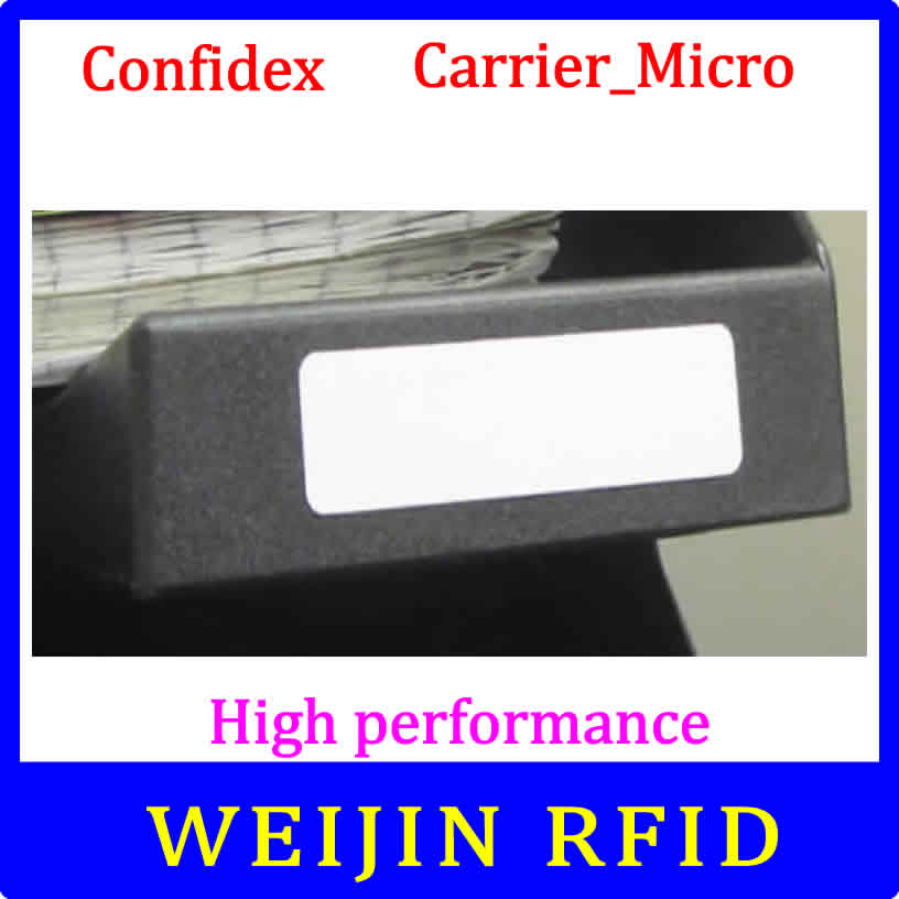 Confidex Carrier Micro 860-960MHZ UHF RFID tag 915M EPC C1G2 ISO18000-6C washable small label with strong grip on non-metallic<br><br>Aliexpress