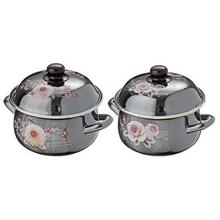 POT DAHLIA BLACK PEARL 18CM 1.8 L kitchen bar utensils appliances pan plate mug frying cooking stainless steel non stick 894-331