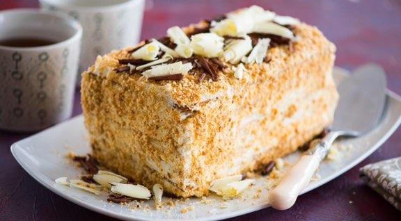 Торт наполеон пошаговым