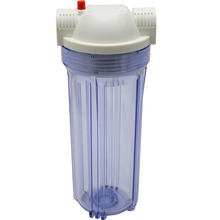 "1/2 Inch Copper Port Explosion-Proof Transparent High Quality 10"" Water Filter Housing Water Filter Bottle(China)"