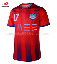 2016 Newest Design Sublimation custom soccer jerseys top quality free shipping