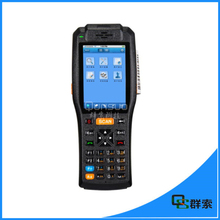PDA3505 pda barcode scanner android,wireless handheld pos terminal with 3G,wifi,bluetooth,NFC,gps, printer