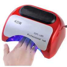 Big promotion Nail Art Polish 110V 220V 48W UV Gel Nail Curing Dryer Lamp Professional LED CCFL Light Lamps for fast Drying Nail