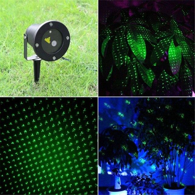 Landscape Lighting Garden Home Party Xmas Buried Lighting IP65 Waterproof Green Outdoor / Indoor Projector Laser Lights AB001<br><br>Aliexpress