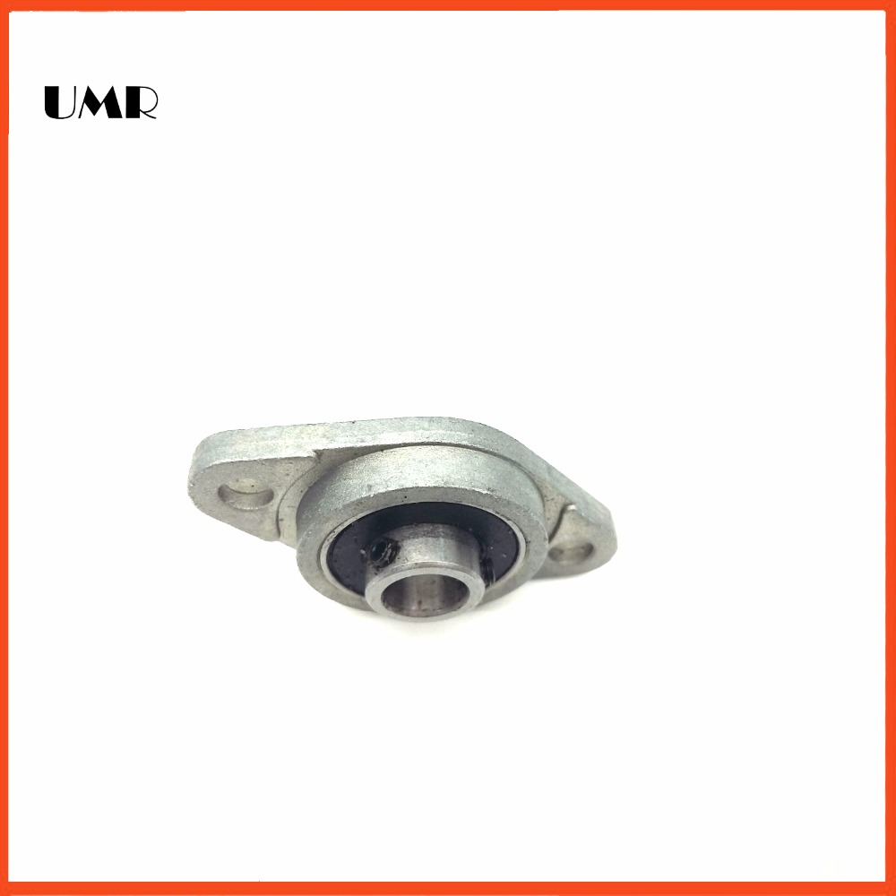 KFL001 12mm diameter zinc alloy bearing housing FL001 K12 pillow block bearing 2pcs/lot<br><br>Aliexpress