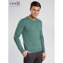 oodji 2017 basic Pullover with vneck free shipping across Russia 4B212004M34390N oodji 2017 Men Pullover Shipping