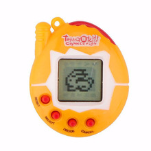 Color Random Virtual Cyber Digital Pets Electronic Tamagochi Pets Retro Game Funny Toys Handheld Game Machine For Gift