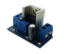 DC-DC direct current converter LM317 adjustable regulated power supply module step-down module