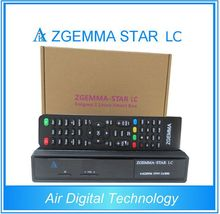 20pcs/lot Original Cable Receiver with Best Wholesale Price  zgemma-star LC DVB-C cable tuner Linux HD Cable TV Receiver