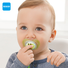 MAM Love & Affection Top Silicone Nipple Dummy Orthodontic Soother for babies Teether Baby Pacifier Care from 6+ months