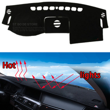 Car dashboard Avoid light pad Instrument platform desk cover Mats Carpets Auto accessories for land rover Freelander Evoque