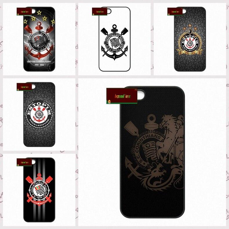 corinthians FC Logo Cover Case Cover case for iphone 4 4s 5 5s 5c 6 6s plus samsung galaxy S3 S4 mini S5 S6 Note 2 3 4  DE0059