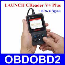 Launch Creader V+ OBDII Code Scanner CReader V Plus 100% Original Same As Creader VI Support Multi-Languages Free Shipping