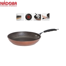 Frying pan with non-stick coating 28 cm NADOBA series MEDENA