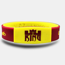 New Lebron James Silicone Sport Wristband Basketball Player Rubber Bracelets With 3 Colors Glow In The Dark Silicone Bangle