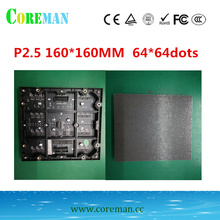 pitch 2.5 160000dots/sqm  pixel led rgbp2.5 video wall led module in Stock p2.5 indoor smd led screen