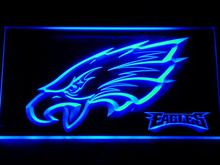 144 Philadelphia Eagles Bar Beer Pub LED Neon Sign with On/Off Switch 7 Colors to choose