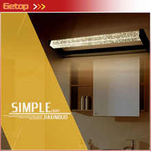 ZX Modern Bubble Crystal LED Chip Mirror Wall Lamp Waterproof Dampproof for Dressing Room Cabinet Bathroom Toilet Make-up Lamp(China)