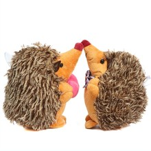 Plush Hanging Animal Ragdoll Boy And Girl Hedgehog Doll Cute Mini Stuffe Toy For Home Room Party Decoration Children Favor(China)