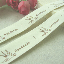 Min.order is $5 (mix order),2CM width,Zakka cotton label,a swallow takes flower label,BOBO DIY accessory,FREESHIPPING,F002#-1