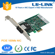 LR-LINK LREC9020PF PCIe 100FX LC Connector Multi-mode fiber optic NIC card (RTL8105E Based)(China)