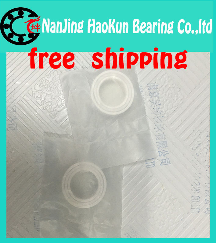 Free Shipping Full zro2  689 Ceramic bearing 9 * 17 * 5 MM zirconia bearing / ZrO2 /  high temperature insulation corrosion<br><br>Aliexpress