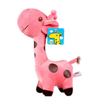 1 PC Unisex Baby Kid Child Girls Cute Gift Plush Giraffe Soft Toy Animal Dear Doll Birthday Happy Gifts