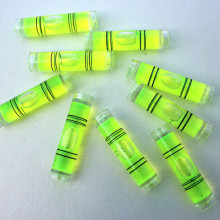 1000Pcs/Lot Spirit Level Bubble PMMA Material Acrylic Shell Bubble Level Drop Tester For Picture Frames Instruments