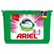 Washing Powder Capsules Ariel Capsules 3in1 Lenor Effect (15 Tablets) Laundry Powder For Washing Machine Laundry Detergent