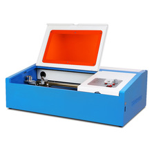 HIGH PROMOTION 40W CO2 LASER ENGRAVING CUTTING MACHINE ENGRAVER CUTTER 300X200MM Newest digital cutter(China)