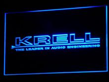 k042 Krell Audio Home Theater Gift LED Neon Sign with On/Off Switch 7 Colors to choose