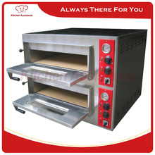 PA8 Professional 2 deck Stone Pizza Oven Bread Cake Oven of bakery equipment