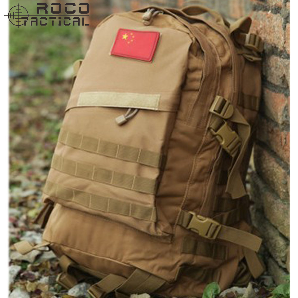 45L Waterproof MOLLE Military Backpack 3-Day Combat Attack Backpack Multi-use Assault Backpack<br>