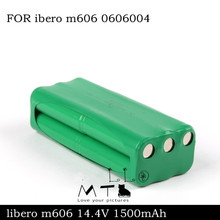 14.4V 1600mah NI-MH FOR ibero m606 Replacement battery Robot battery FOR ibero m606 0606004(China)
