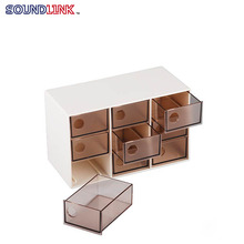 Practical Nine Drawers Storage Box For Holding Hearing Aid Accessories