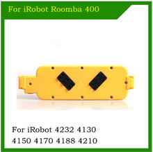 14.4V 4500mah NI-MH For iRobot Roomba 400 replacement vacuum battery pack for iRobot 4232 4130 4150 4170 4188 4210(China)