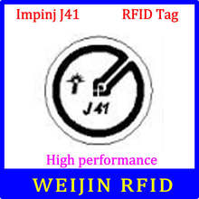UHF RFID tag Impinj J41 dry inlay 915mhz 900mhz 868mhz 860-960MHZ  EPCC1G2 ISO18000-6C smart card passive RFID tags label