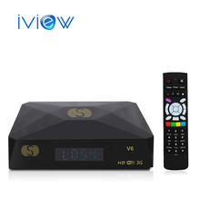 Free Shipping S-V6 Mini HD Satellite Receiver  V6 S Support CCCAMD Newcamd WEB TV USB Wifi 3G Biss Key Youporn DVB Box S-V6