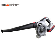 USA Freeshipping 20V Li-ion Samsung Battery Gardening Cleaning Tools Electric Cordless Garden Leaf Air Blower(China)